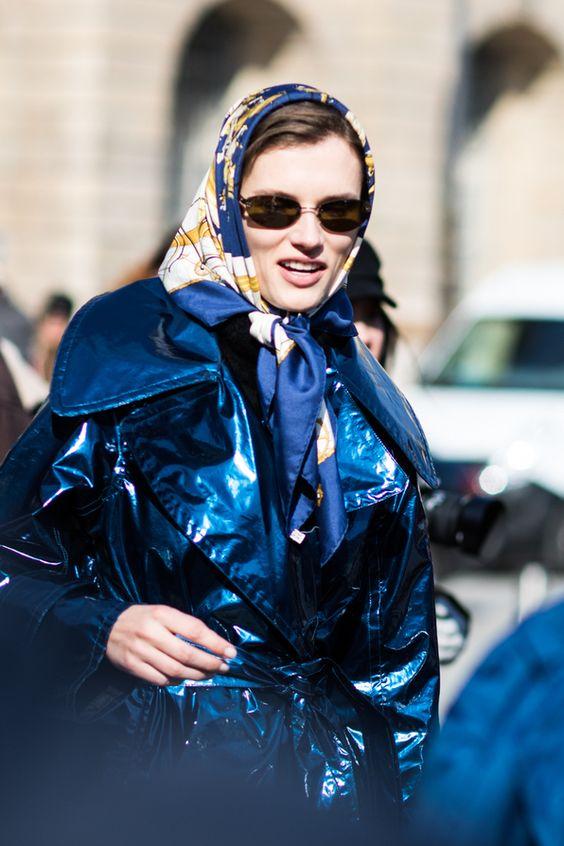pañuelos de seda tendencia