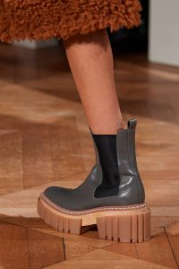 chunky rubber boots