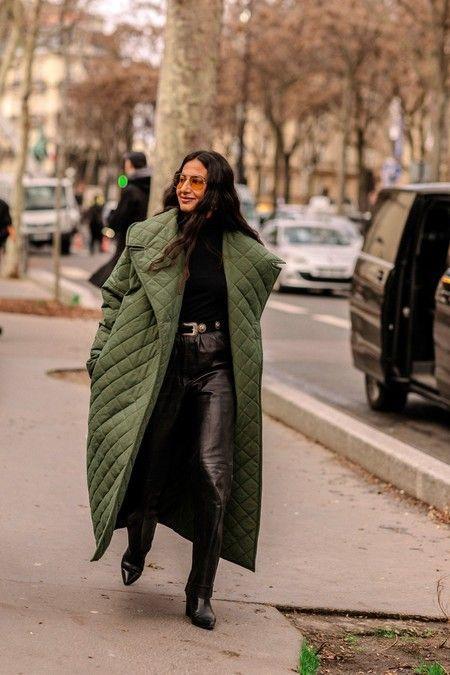 abrigo acolchado tendencia